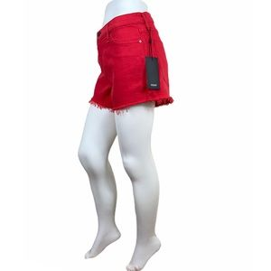 Hudson  Gemma mid rise shorts NWT size 28